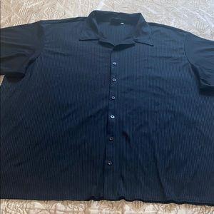 Positano black shirt Size 4X